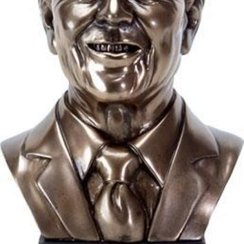Ronald Reagan USA American US President Portrait Bust 9.25H