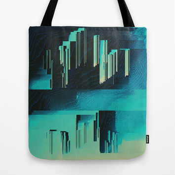 Underwater City Tote Bag by DuckyB (Brandi)