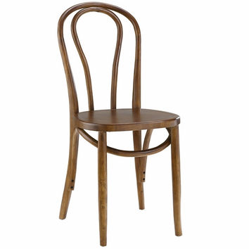 Eon Dining Side Chair Walnut