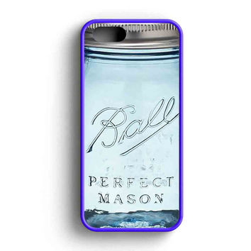Ball Mason Jar Vintage Glass iPhone 5 Case iPhone 5s Case iPhone 5c Case