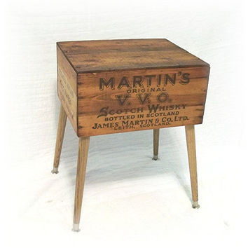 Primitive Shipping Crate Table MARTINS ORIGINAL by MrsRekamepip