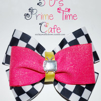 50's Prime Time Cafe Hair Bow