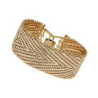 Premium Gold V Linked Bracelet - Jewelry  - Bags & Accessories