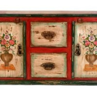 One Kings Lane - Madeira - Galabrant Hand Painted Credenza
