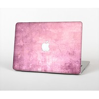 "The Pink Grungy Surface Texture Skin Set for the Apple MacBook Pro 13"" with Retina Display"