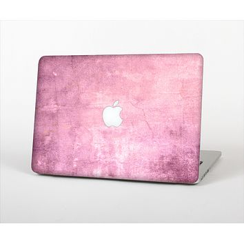 "The Pink Grungy Surface Texture Skin Set for the Apple MacBook Pro 15"" with Retina Display"