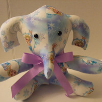 Disney's Elsa Frozen Themed Stuffed Elephant