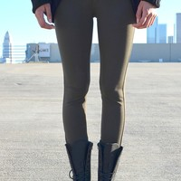 All Time Ponte - Olive | Shop Civilized