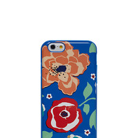 Kate Spade Resin Iphone 6 Multi Floral Ocean Blue