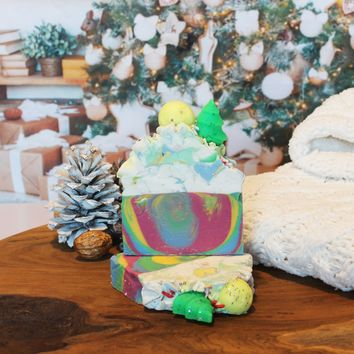 Limited Edition Hippy Christmas Seasonal Soap Bar