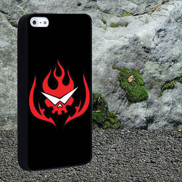 Gurren lagann logo skull vect Case for iPhone 4/4s,iPhone 5/5s/5c,Samsung Galaxy S3/s4 plastic & Rubber case, iPhone Cover