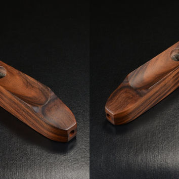 EMBER OUT PIPE • East Indian Rosewood • Get A Supply of Screens From The Drop Down Menu