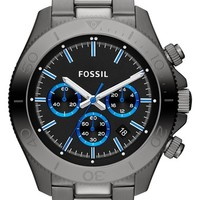 Men's Fossil 'Retro Traveler' Chronograph Bracelet Watch, 45mm