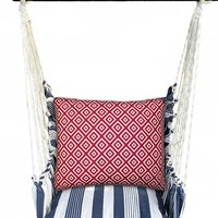 Magnolia Casual Marina Stripe Swing Chair