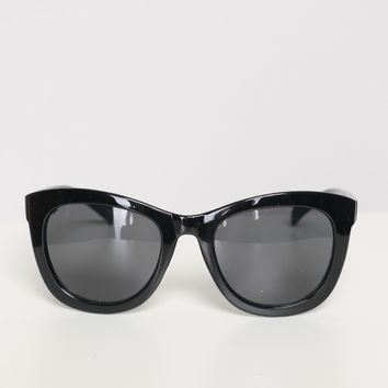 Bold Eyes Sunglasses Black