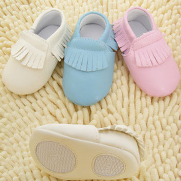 Baby Firsts Soft Sole Moccasins