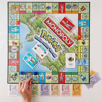 Pokemon Kanto Edition Monopoly Game - Urban Outfitters