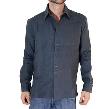 100% Hemp Button Down Men's Shirt - Hempest
