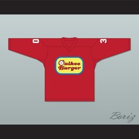 Tenor Brothers 30 Quikee Burger Hockey Jersey Stuck on You