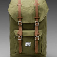 Herschel Supply Co. Little America Backpack in Army