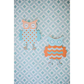 My Baby Sam Penny Lane Wall Art Set (Orange)