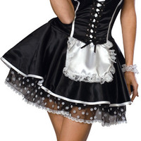 women's costume: sexy maid | xs