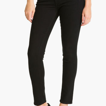 Paige Denim Skyline Ankle Peg | Black Ink | SALE