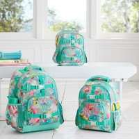 Mackenzie Gray Hibiscus Backpack