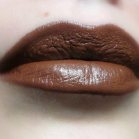 Brown Lipstick - Hot Choco - Nourishing - All Natural