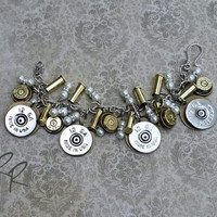 Ammo Bullet Bracelet, Upcycled Repurposed