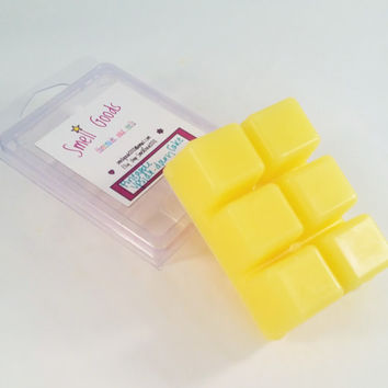 Pineapple Upside Down Cake Scented Clamshell Paraffin Wax Tart Melts - Wickless Candle - Candle Melts - Strong Cake and Pineapple Scent
