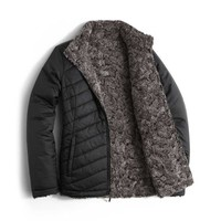 The North Face Mossbud Swirl Reversible Jacket for Women in TNF Black NF00CUB5-NAQ