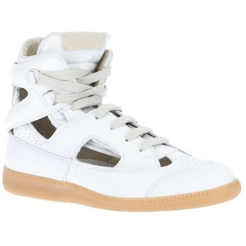Maison Martin Margiela High Top Lace Up Trainer