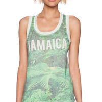 Chaser Jamaica Tank in Green