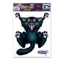 Crazy Cat Car Cling Party Accessory (1 count) (1/Sh)