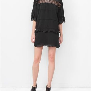 Isabel Marant Etoile Cassy Dress- Black
