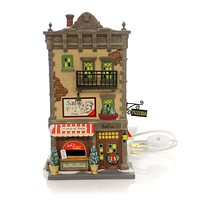 Department 56 House Sal's Pizza & Pasta Village Lighted Building