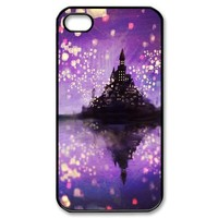 SeeSeeSee Custombox Tangled for iphone 4/4s Case Plastic Hard Phone case for iPhone 4