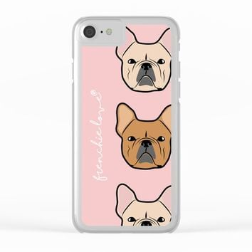 Frenchie Addiction by Frenchie Love Clear iPhone Case by Frenchie Love