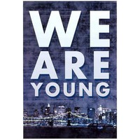 (13x19) We Are Young Skyline Music Poster