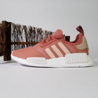 """Women """"Adidas"""" NMD Boost Casual nmd Sports Shoes Pink"""