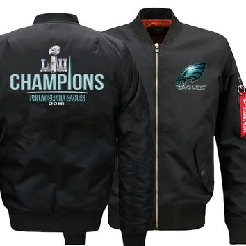 Philadelphia Eagles Ma-1 Bomber Jacket |Flight Jacket  (3 Colors)