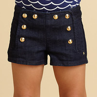 Juicy Couture - Toddler's & Little Girl's Denim Sailor Shorts
