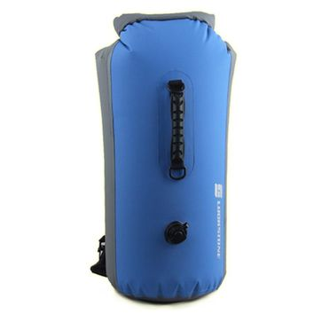LUCKSTONE 1pc 25L\35L\60L Outdoor Travel Swimming Drifting Inflatable Dry Folding Waterproof Bag Backpack D00925