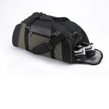Personalized Mens Travel Bag - Duffle Bag, Gym Bag, Luggage Suitcase