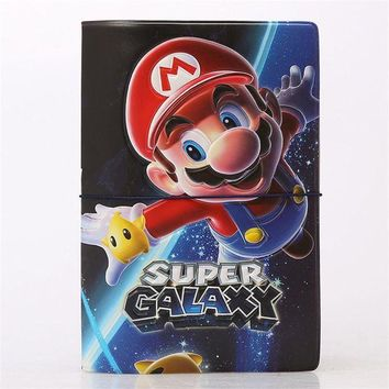 DCCKU62 Super Mario Galaxy 3D Design Fashion Passport holder Cover ID package Travel Accessories Ticket Protective Case Gift
