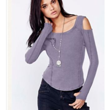 FREE PEOPLE On Point Rib Prima Ballerina Top - Tops and Tees - Women