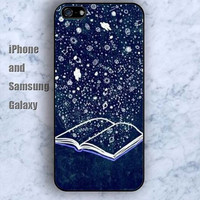 Science fiction books shine iPhone 5/5S Ipod touch Silicone Rubber Case, Phone cover