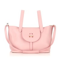 Dusty Pink Leather Thela Bag | Meli Melo | Avenue32