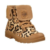 Baggy Leopard Binding Boots by Palladium
